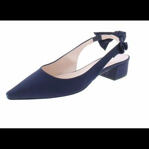 COPY - Kate Spade fabric shoes with satin bow Ver…